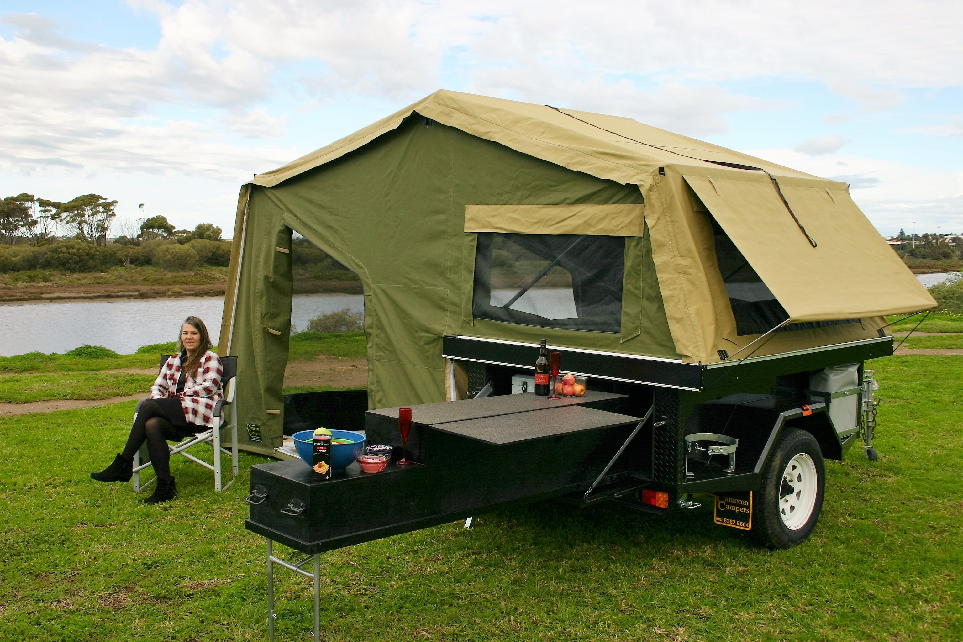 Elegant NEW 2011 DELUXE 12 CAMPER  Camper Trailer Tents Brisbane  Trailer